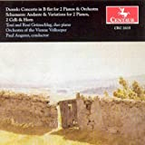 Dussek: Concerto In B Flat For 2 Pianos & Orchestra / Schumann: Andante & Variations for 2 Pianos