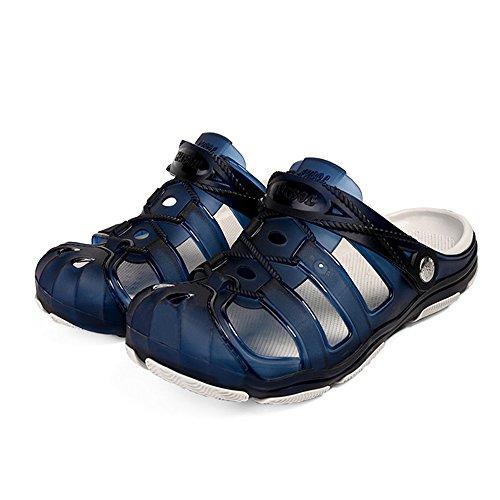 pantofole Per da 43 Wagsiyi Blu Traspiranti Pantofole Da 3 1 spiaggia Antiscivolo Spiaggia Grigio Pantofole Dimensione Scarpe Colore Uomo EU 0qwfdS