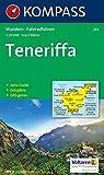 Kompass Karten, Teneriffa: Wander-, Bike-, Freizeit- und Straßenkarte. GPS.