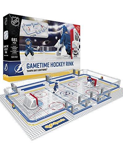 OYO NHL Tampa Bay Lightning Full Rink Set, Small, - Goalie Lightning Bay Tampa
