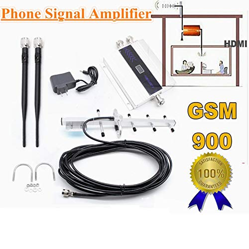 - WUPYI GSM 900MHz Mobile Cell Phone Signal Booster Repeater Amplifier 3G/4G Repeater Booster Amplifier Extender +Yagi Antenna (GSM 900MHz)