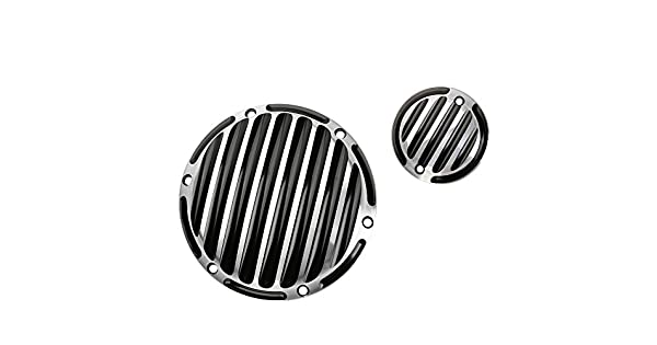 ECLEAR Clutch Finned Timing Timer Derby Cover CNC Aluminum Motorcycle For Harley Sportster Iron 883 1200 48 Chrome