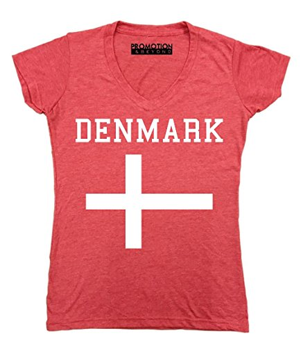 Promotion & Beyond Choose Your Country Flag Denmark Women