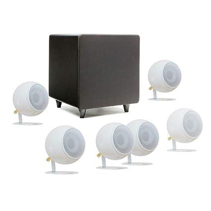 amazon com orb audio mod1 mini 5 1 plus home theater speakerorb audio mod1 mini 5 1 plus home theater speaker system surround sound system