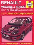 Renault Megane and Scenic (99-02) Service and Repair Manual (Haynes Service & Repair Manual Series)