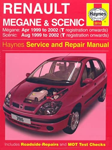 renault megane and scenic 99 02 service and repair manual haynes rh amazon com renault megane scenic workshop manual renault megane scenic service manual pdf