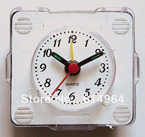 Maslin Insert Clock Clock Head 37mm(01B) Clock Parts Arabic Number, Green Paint of Hands,5pcs/lot,