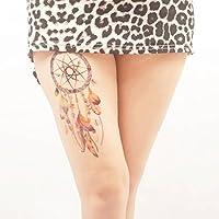 COKOHAPPY Temporales Tatuaje 12 hoja - Atrapasueños Tatuaje ...
