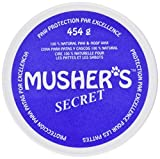 Invisible Dog Boots - Protect Paws From Sand , Hot Pavement , Ice , and Salt with All Natural 100% Wax-Based Cream. For Dogs Who Just Won't Wear Boots. - 454gm by Musher's Secret