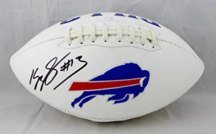 Image Unavailable. Image not available for. Color  Kelvin Benjamin  Autographed Buffalo Bills Logo Football ... d70cffba3