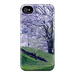 PJPettit Design High Quality Spring Of Life Cover Case With Excellent Style For Iphone 4/4s