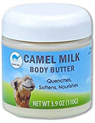 Camel Life/Camel Milk Body Butter - Unscented/Moisturizing treatment butter/Naturally protective restorative proteins/non-greasy Shea butter formulation / 3.9 oz tub