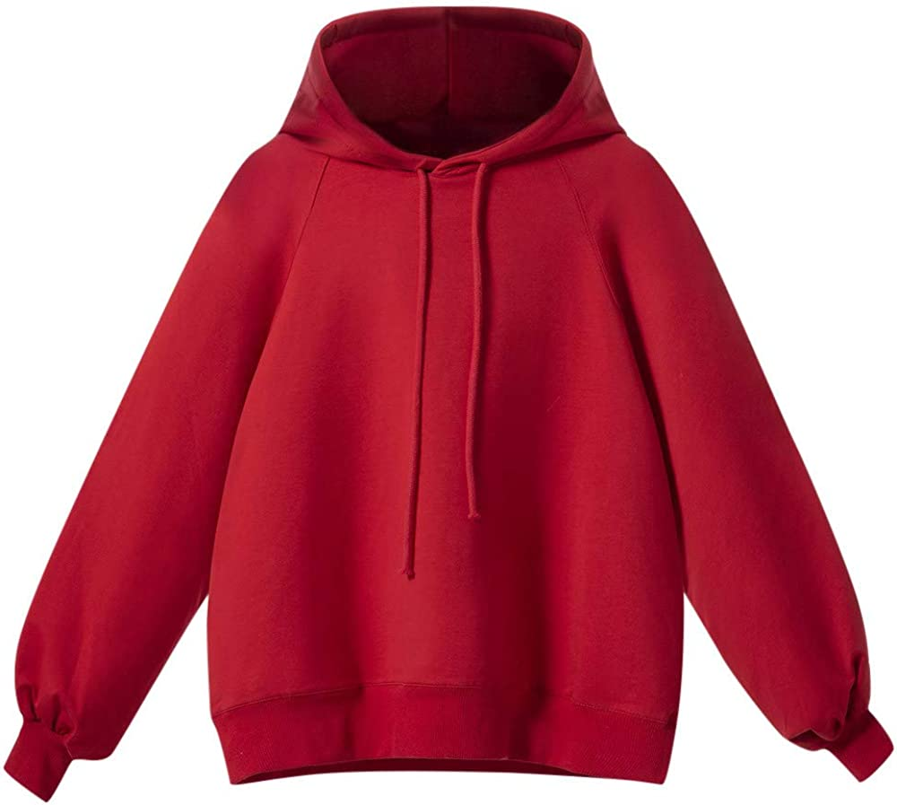 Womens Tops,Sweaters for Women ClearanceLantern Sleeve Sweater Loose Thin Hoodies Blouse
