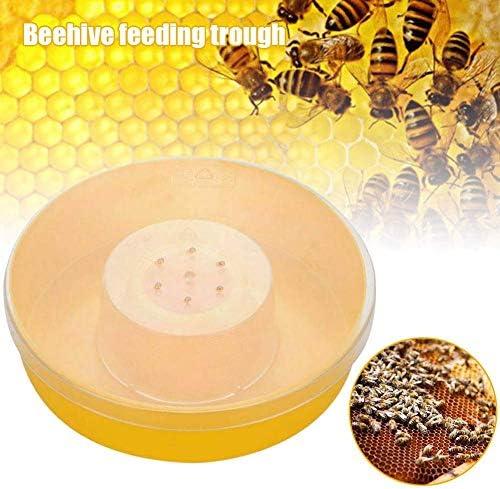 Mkiki Biene Wasser Futterspender Schnell Rund Hive Top Imkerei Liefert Behälter Trink Napf
