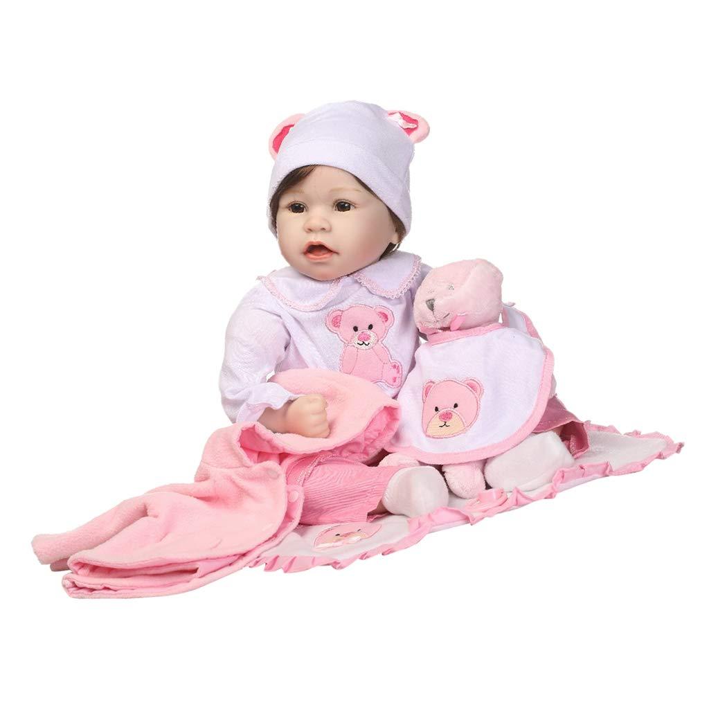 ordenar ahora Baoblaze Modelismo Modelismo Modelismo Muñeca Niña Reborn de Vinilo de 22 Pulgadas Juegos Dormir para Niños  suministro de productos de calidad