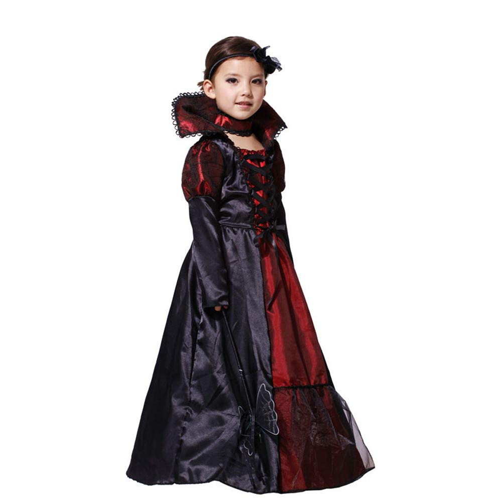 SHITOU Toddler Kids Girls Halloween Cosplay Costume Dresses Outfits Clothes