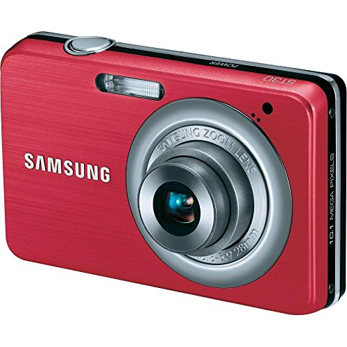 Samsung ST30 10 MP Compact Digital Camera (International Version) (Red) (10.1 Mp Camera Purple)