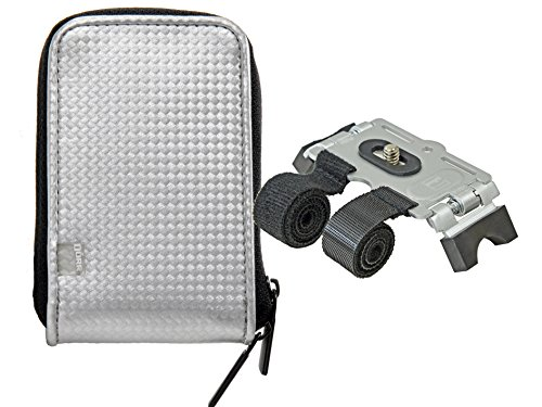 Retro Case Camera Bag in Set with Velcro Stand for Bike -