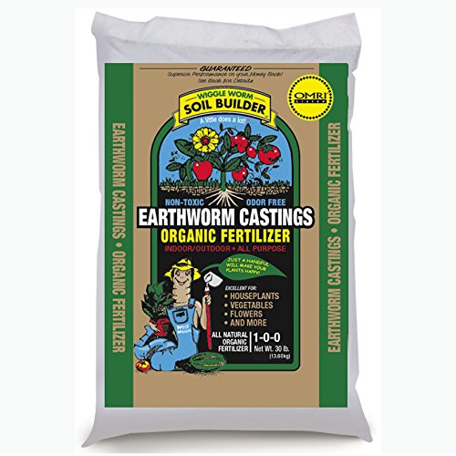 Unco Industries WWSB30LB Wiggle Worm Soil Builder Worm Castings, 30 lb. by Unco Industries