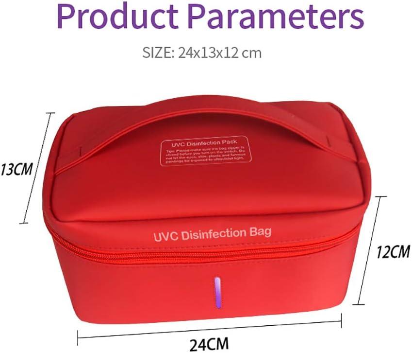 bewegliche Sanitizer Aufbewahrungstasche Kills 99,9/% Mold mit USB-Lade f/ür Babyflasche//Unterw/äsche//Manik/üre//Kosmetik Reinigung INEP UV-Sterilisator Beutel
