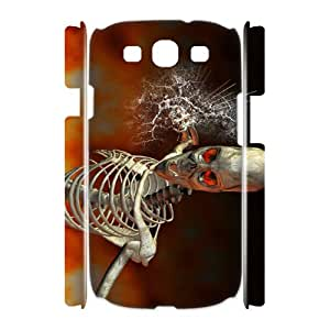 C-U-N0099787 3D Art Print Design Phone Back Case Customized Hard Shell Protection Samsung Galaxy S3 I9300