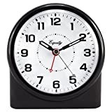 clocks with lighted dials - Equity by La Crosse 14080 Analog Night Vision Alarm Clock