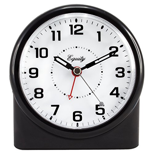 (Equity by La Crosse 14080 Analog Night Vision Alarm Clock)