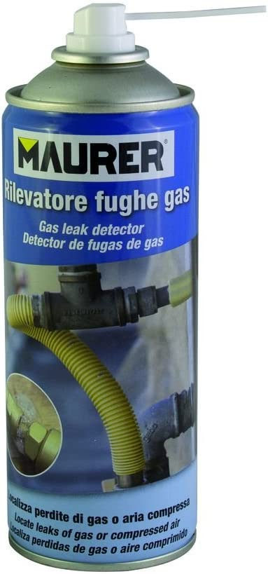 MAURER 12060366 Spray Detector Fugas De Gas 300ml, Azul: Amazon.es ...