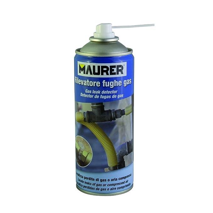 MAURER 12060366 Spray Detector Fugas De Gas 300ml, azul: Amazon.es: Bricolaje y herramientas