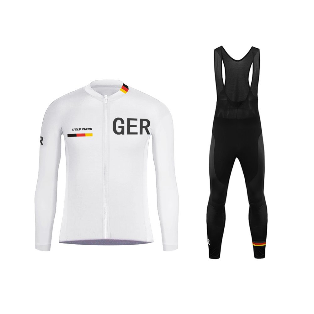Uglyfrog Designs -Landesvorwahl Sport Radsport Trikots & Shirts Kurzarm Herren Sommer Stil Bekleidung Atmungsaktiv Top