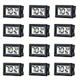 12 Pack Mini Small Digital Electronic Temperature