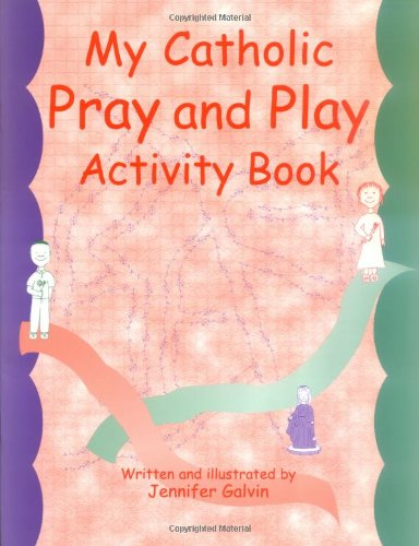 Catholic Activity - My Catholic Pray and Play Activity Book