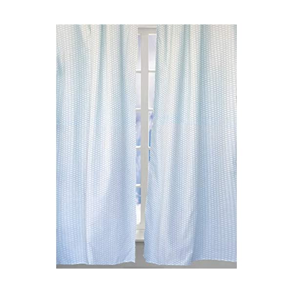 Nautical Themed Curtain Panels for Nursery Room and Kids Bedroom