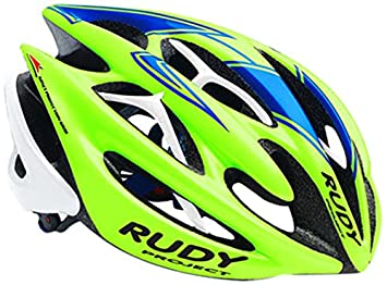 Rudy Project Sterling - Casco de carretera - verde/azul Contorno de la cabeza 54