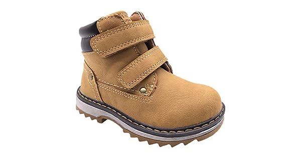 7fb1dba7ed35f TZJS Kid's Martin Boots for Boys Girls, Children's Hiking Shoes ...