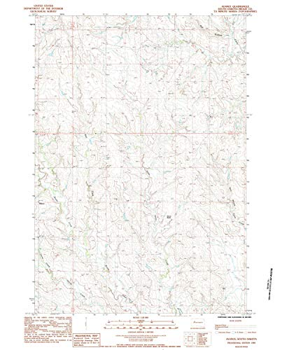 (YellowMaps Avance SD topo map, 1:24000 Scale, 7.5 X 7.5 Minute, Historical, 1983, Updated 1984, 26.8 x 22 in - Tyvek)