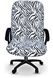 Zebra Office Desk Chair Cover (The Chirt)
