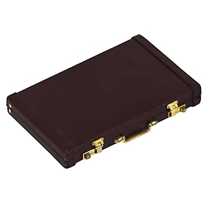 innovative design ab6e7 ca339 Amazon.com: Iconikal Briefcase Style Business Card Holder: Office ...