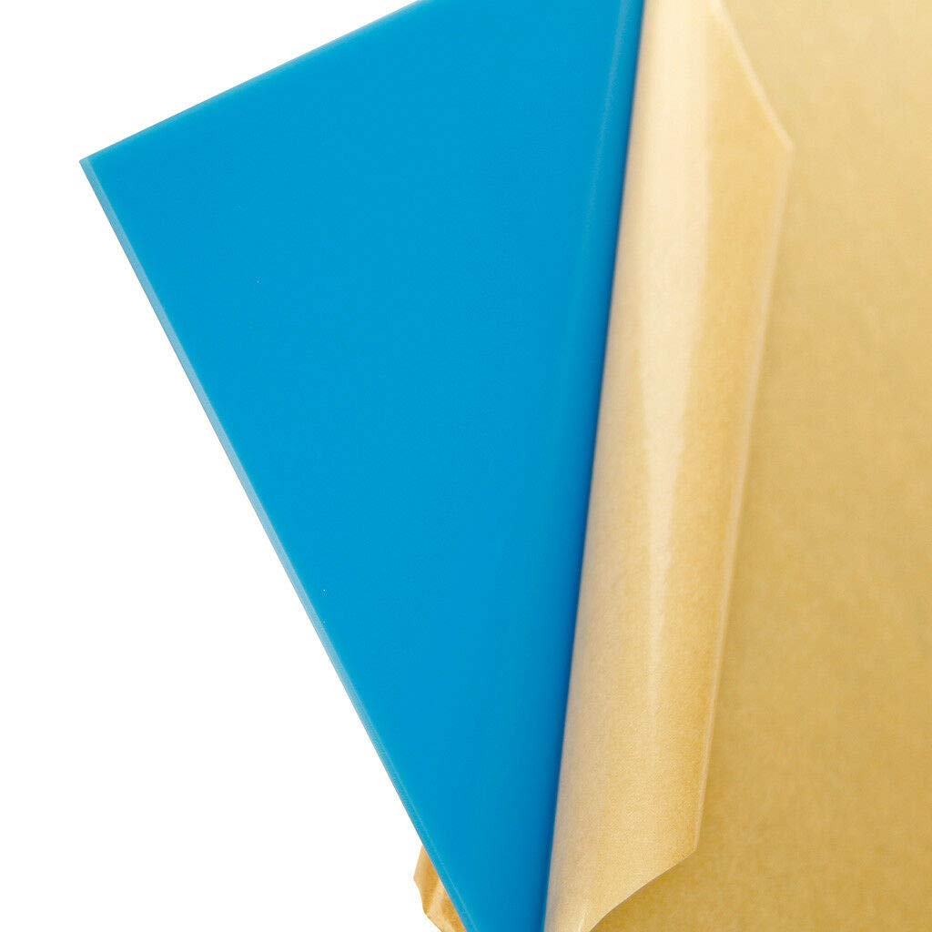 Solid Light Blue 12x24 Acrylic Plexiglass Sheet Cast 0.118 Thick #2648 AZM 1//8 3mm
