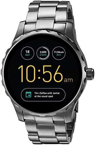 Fossil Q Marshal Gen 2 Touchscreen Gunmetal Stainless Steel Smartwatch