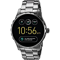 Fossil Q Marshal Gen 2 Smoke Stainless Steel Touchscreen Smartwatch