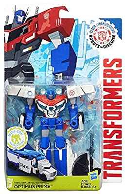 Transformers: Robots in Disguise Clash of the Transformers Power Surge Optimus Prime Exclusive Action Figure