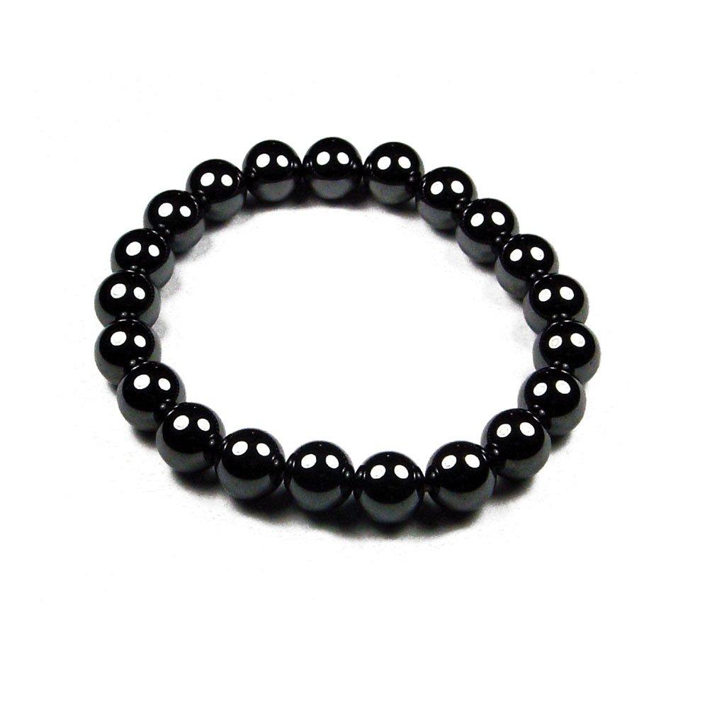 Accents Kingdom Bracelet Rond De Perle Dh/ématite Magn/étique