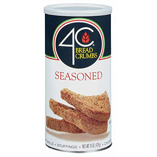 4C Seasoned Bread Crumbs 15 oz. (Pack of 3)