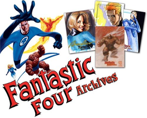 Marvel: Fantastic Four Archives Trading Cards Box Rittenhouse Archives