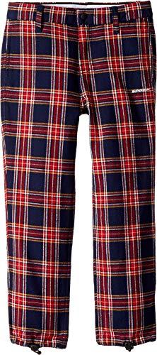 (SUPERISM Baby Boy's Jamison Flannel Pants (Toddler/Little Kids/Big Kids) Navy 7)