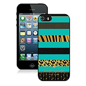 Personalized Popular Design iPhone 5 5S Case Kate Spade New York Phone Case For iPhone 5 5S Plastic Cover Case 76 Black
