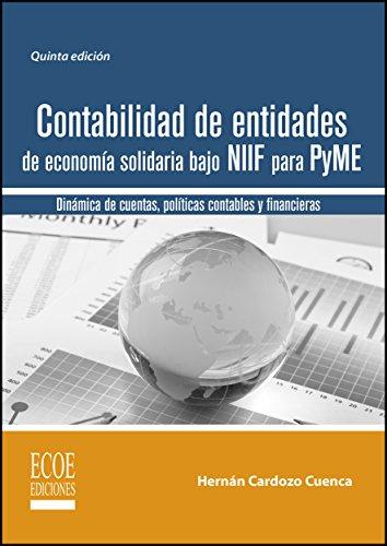 Amazon Com Contabilidad De Entidades De Economía Solidaria