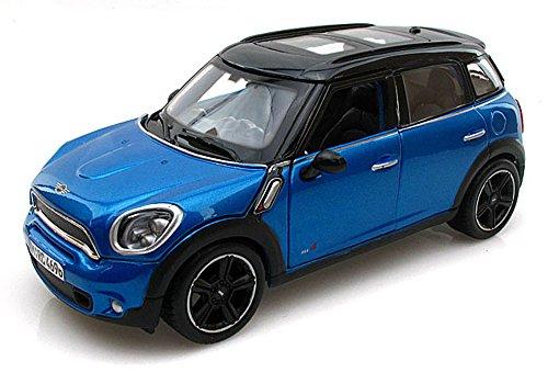 Mini Cooper Countryman, Blue - Maisto 31273 - 1/24 Scale Diecast Model Toy Car ()