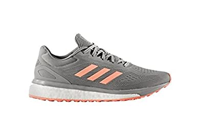 adidas Response Boost Lt Women's Running Shoe 5 Gray-Sun Glow-Ice Mint